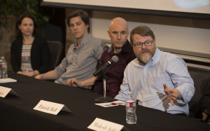 CGU Big Data-Big Data Commencement panel discussion and dinner at Claremont Graduate University, May 15, 2015.